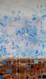 Paisaje líquido 2, mixta/lienzo, 35 x 55, 2007