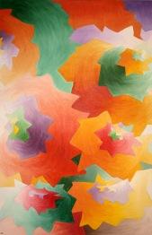 Paisaje abstracto, óleo/lienzo, 60 x 92, 2010