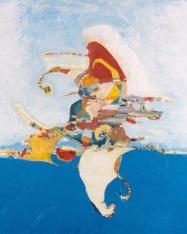 Volador, óleo/tabla, 1996