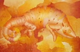 Camaleón, óleo/lienzo, 92 x 60