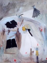 Guerra, óleo/lienzo, 2000