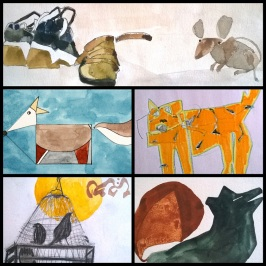 collage animales 5 negro 293 kb