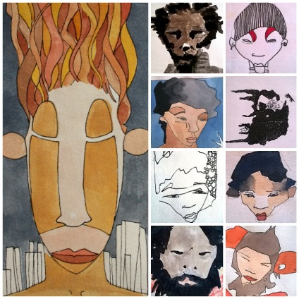 Collage retratos 1