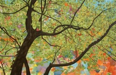 Ároles, óleo/lienzo, óleo/lienzo, 60 x 92, 2015