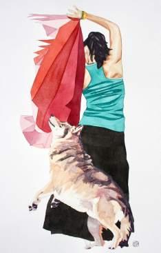Flamenco y lobos 3_Fotor